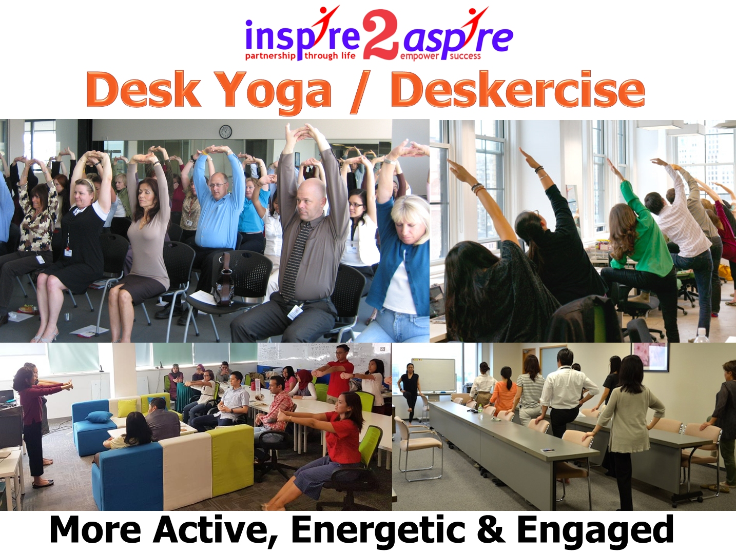 Desk Yoga / Deskercise