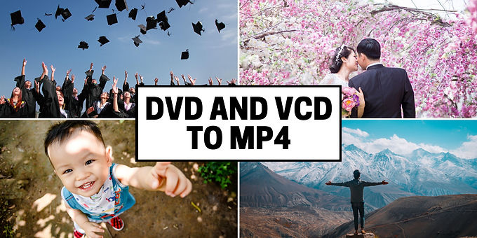 DVD VCD Discs to MP4 Format convert