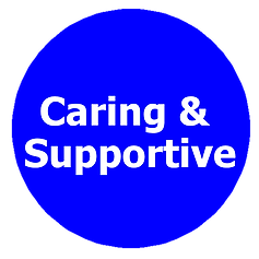 caring supportive