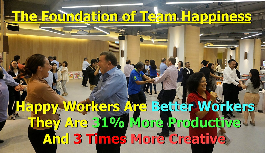 team building activity happier workers, more engaged, productive, creative, focused