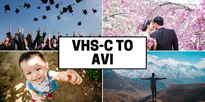 VHS-C to Uncompressed AVI Format convert
