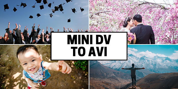 Mini DV to Uncompressed AVI Format convert