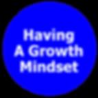 Growth Mindset Learning Attitude
