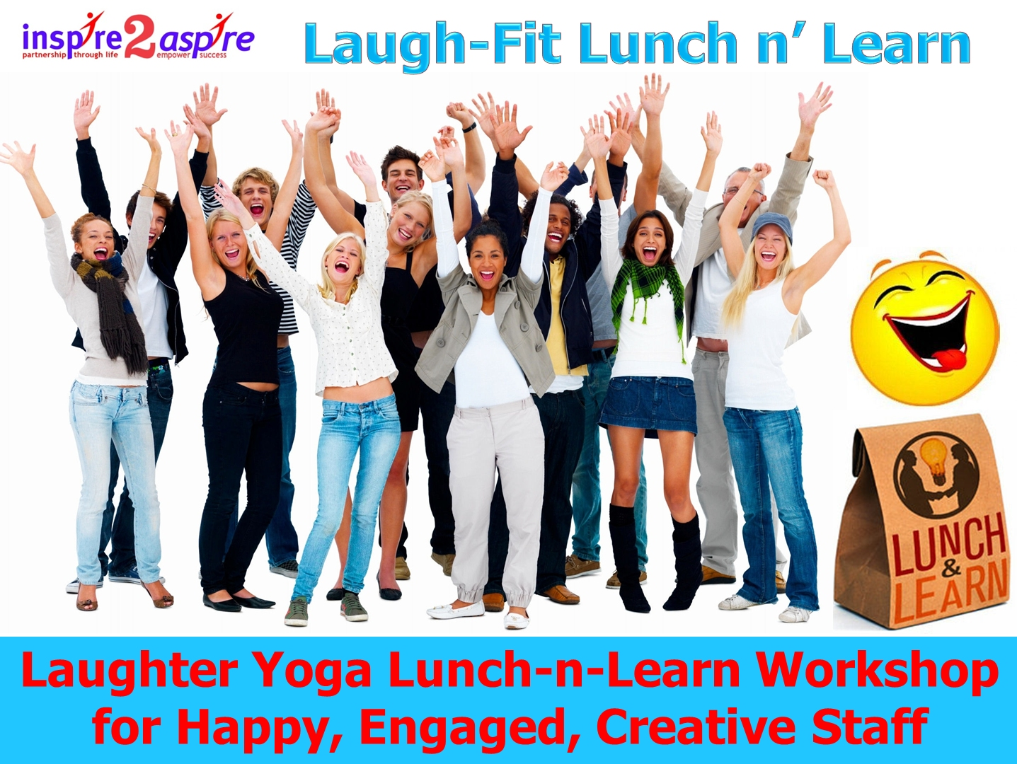 laugh-fit-lunch-n-learn-workshop-happy-engaged-creative-staff