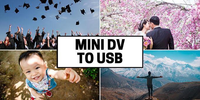 Mini DV tapes to USB drive transfer