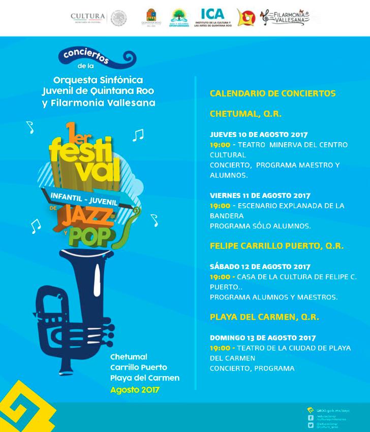1er. Festival Infantil-Juvenil QR