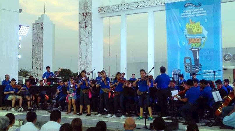 Primer concierto en Chetumal