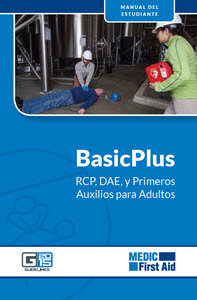 Spanish BasicPlus CPR/AED/First Aid