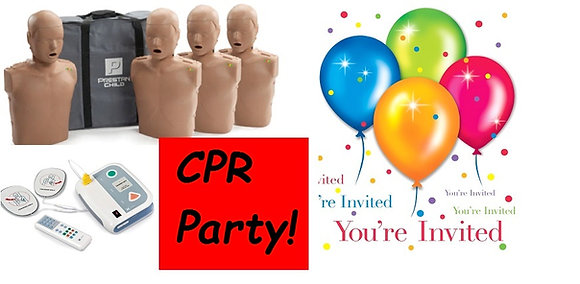 CPR Party! For up to 10 people