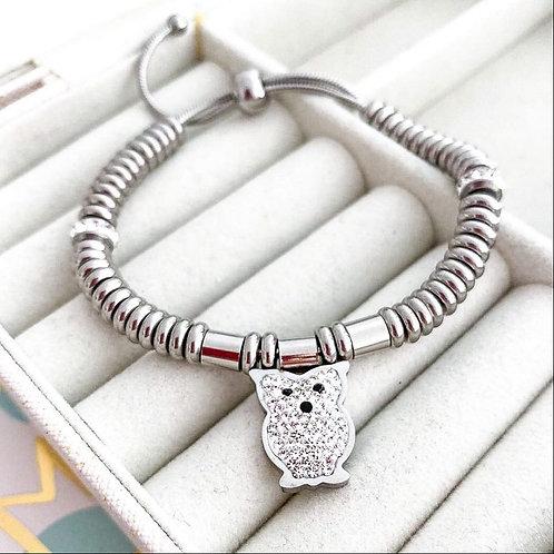 Bracciale Silver Gufo