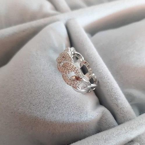 Anello Ice Silver