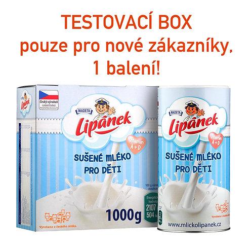 TESTOVACÍ BOX pouze pro nové zákazníky, 1 balení!