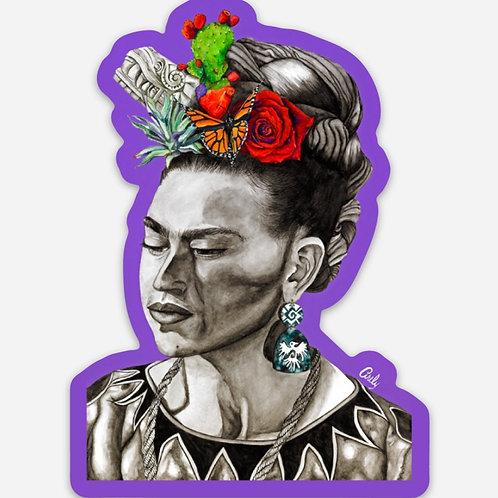 En Sombra de Frida Sticker