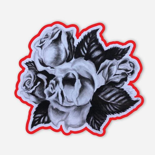Mis Rosas Sticker