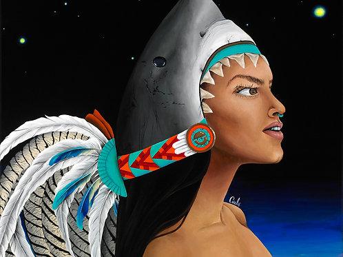 """Mexica Tiahui"" Print PRE-ORDER"