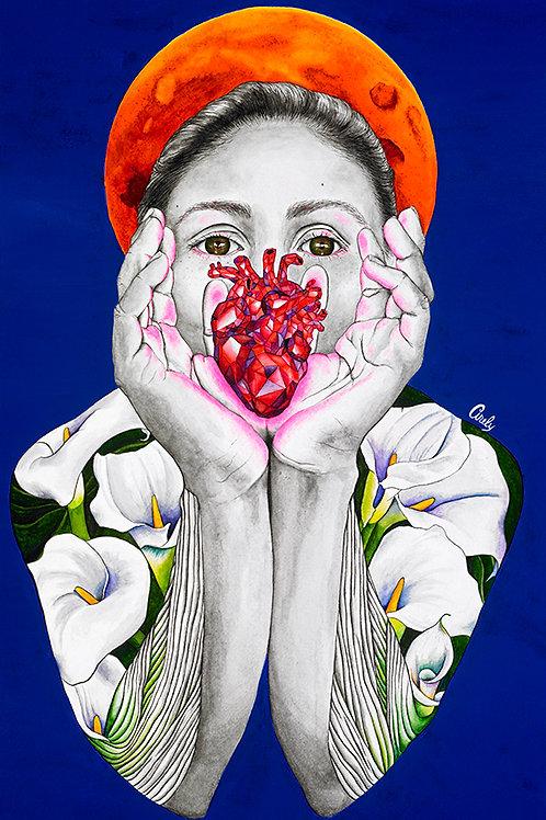 """Madre Luna"" Print"