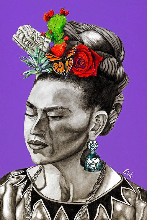 """""""En Sombra de Frida"""" Print"""