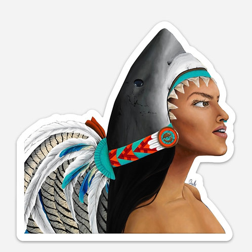 Mexica Tiahui Sticker