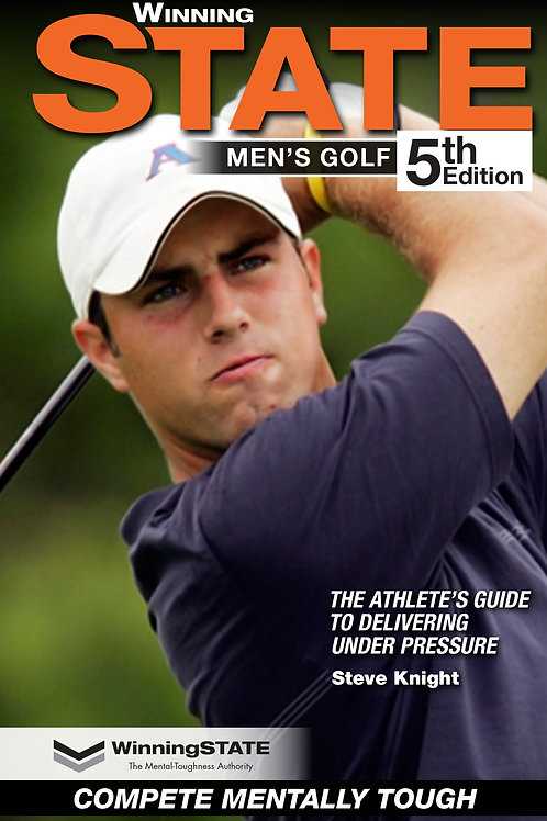 WINNING STATE MEN'S GOLF (paper book)