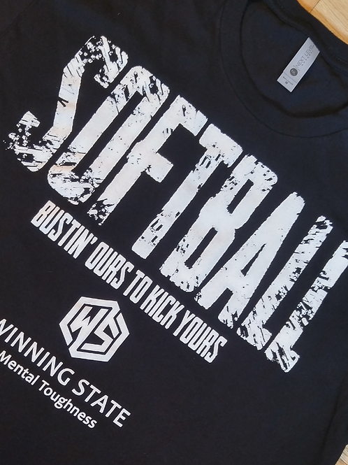 SOFTBALL BUSTIN' OURS TO KICK YOURS >>