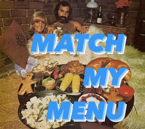 Match My Menu