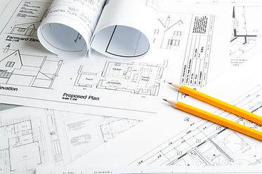 Architectural blueprints and blueprint r