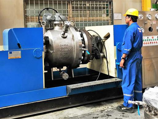 Kiểm tra áp lực cho van trong thiết kế đường ống (Valve Pressure Test)
