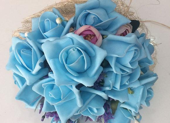 Pastel Mavi