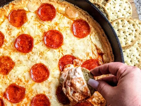 Four Cheese Pizza Dip