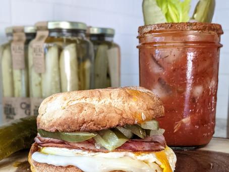 Gluten Free Cuban Breakfast Sandwich