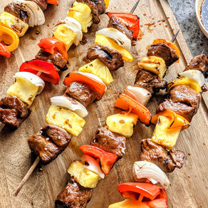 Teriyaki Steak Kabobs