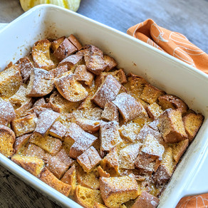 Gluten Free Pumpkin French Toast Casserole