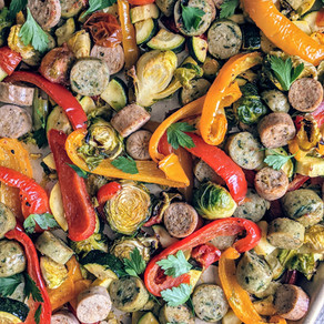 Sheet Pan Sausage and Veggies