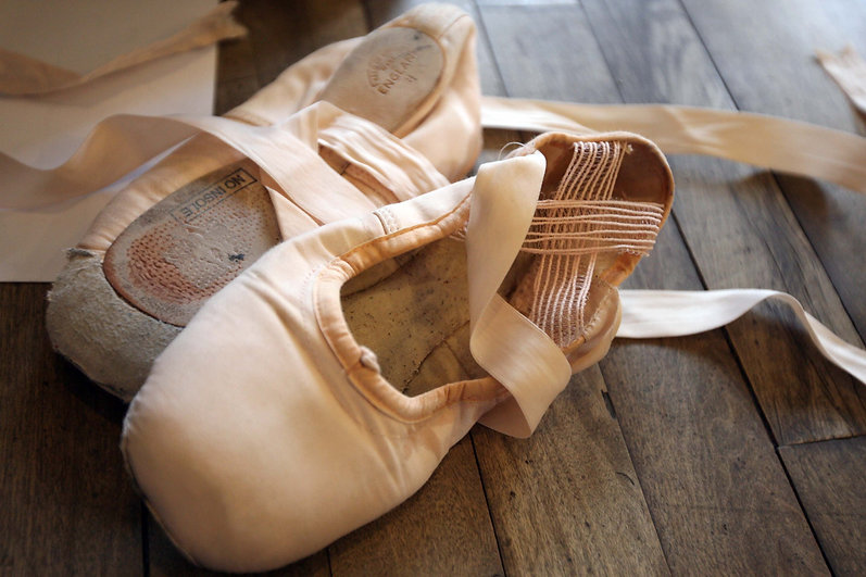 Ballet shoes Photo by Mark Lees; courtes