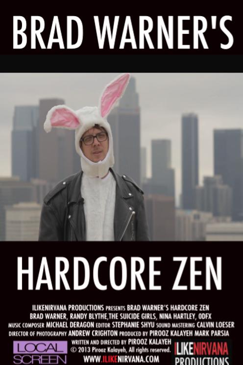 BRAD WARNER'S HARDCORE ZEN - DVD
