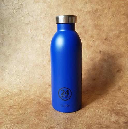 Clima Bottle Gold Blue