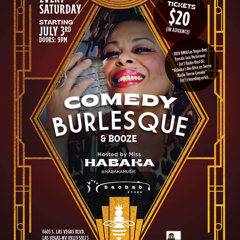Comedy Burlesque & Booze