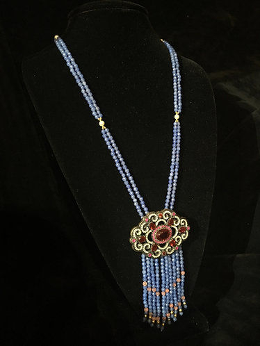 Turkish Periwinkle Bead