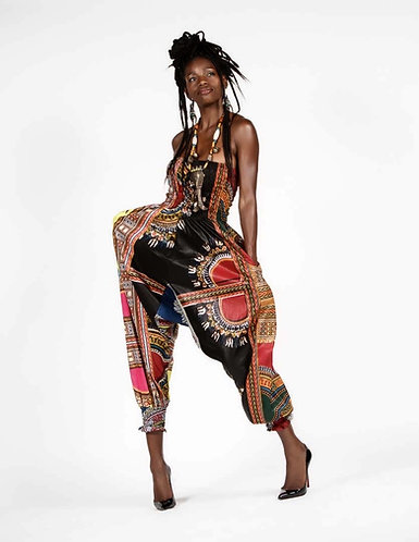 African Style Romper