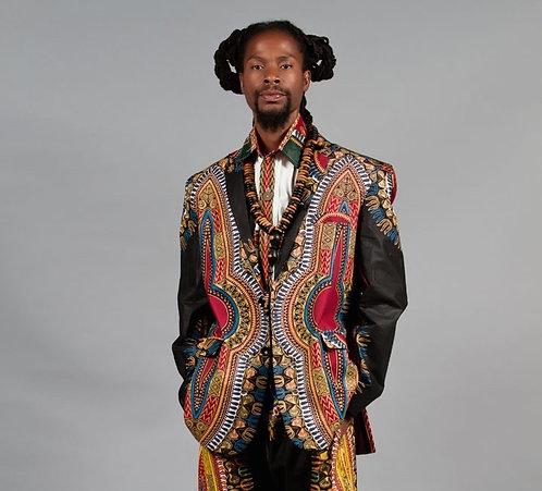 Man Afro Dinner Jacket