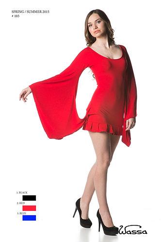 Butterfly Sleeve, short Length dress