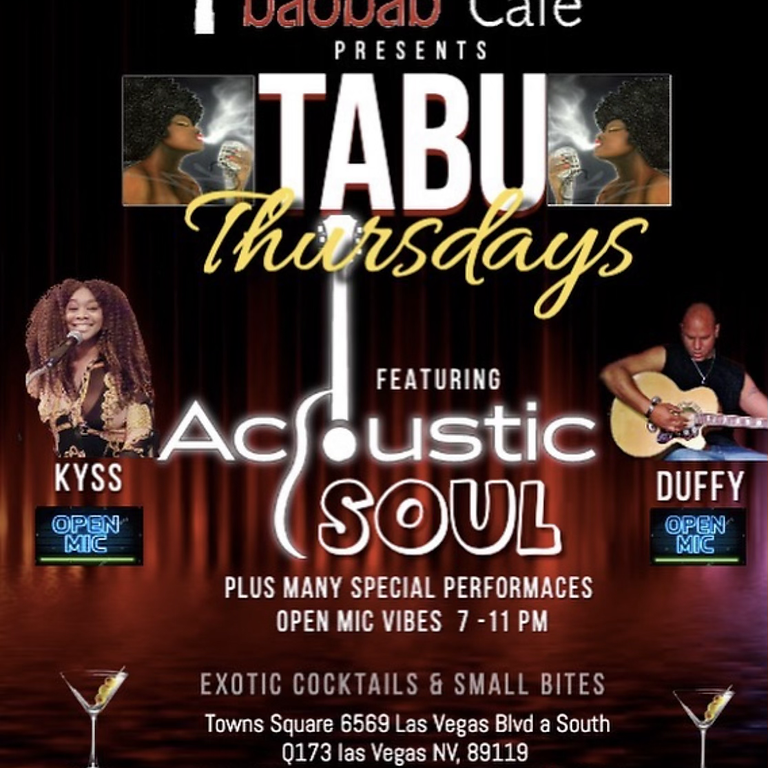 Tabu Thursday Acoustic Soul