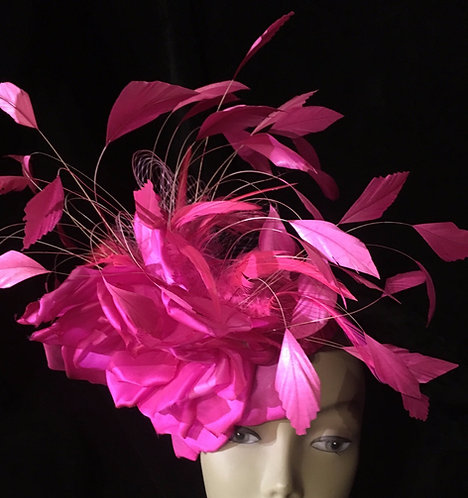 Pink Canary Fascinator