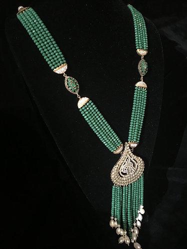 Turkish Green Teardrop Bead