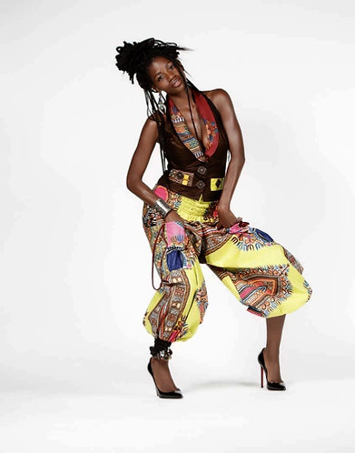 Two-piece Afrocentric Suit