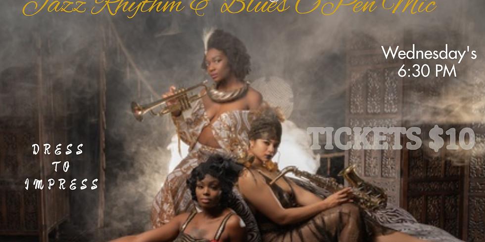 Harlem Nights Jazz, Rhythm & Blues open Mic