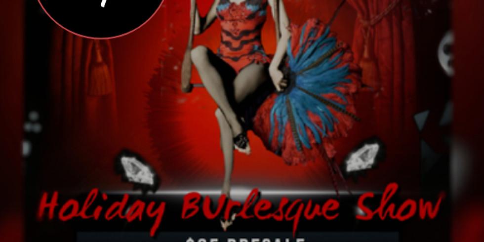 Holiday Burlesque Show 12.23.2020