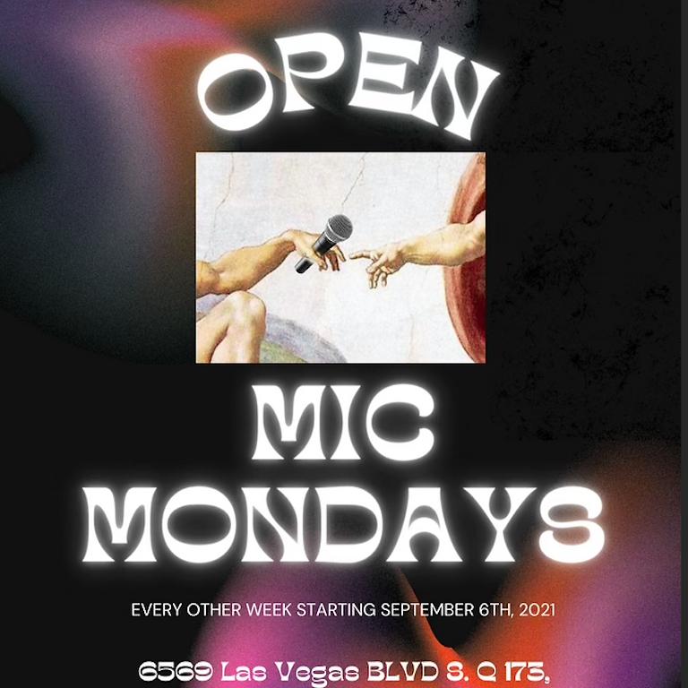 Open Mic Monday