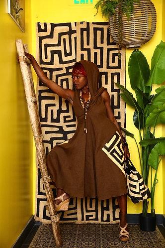 Linen & kuba Dress