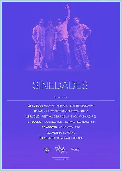 Tour Dates - Sinedades